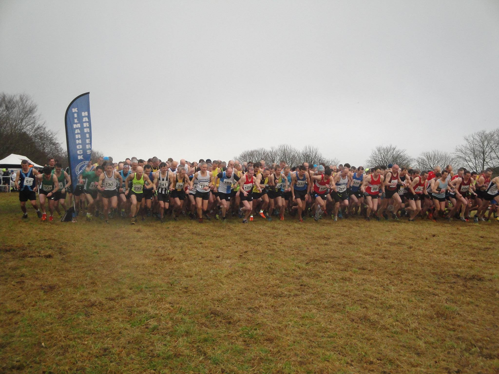 Start of Master's Cross Country 2018 - From Brian Howie
